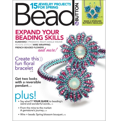 Bead and Button Magazine April 17