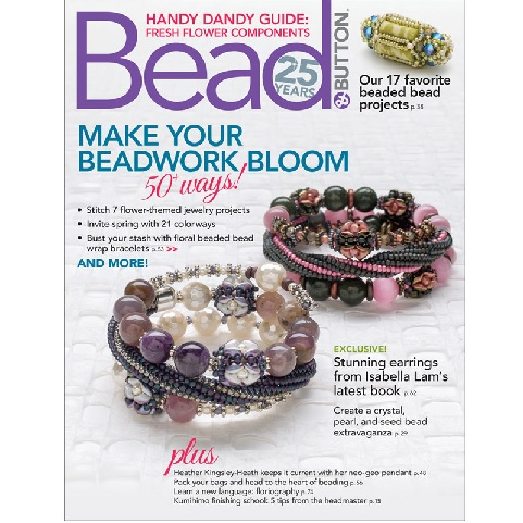 Bead and Button Magazine April 2019