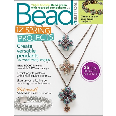 Bead and Button Magazine April 2020
