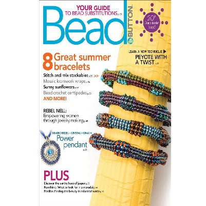 Bead and Button Magazine August 2018