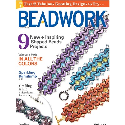 Beadwork Magazine April/May 20