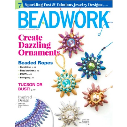 Beadwork Magazine December/January 20