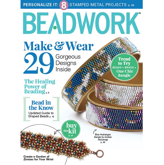 Beadwork Magazine September 2017