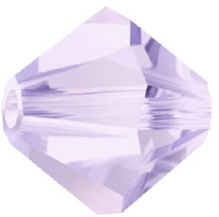 3 mm Czech Crystal Bicone Alexandrite 50 Beads