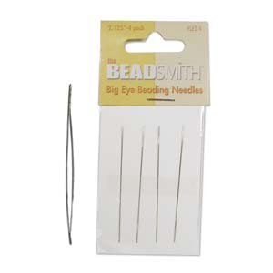4 Pack Big Eye Beading Needles