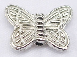 10.5mm Platinum Plated Butterfly Number 1