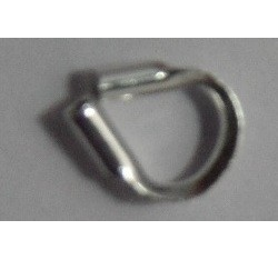 0.021 Sterling Silver Cable Thimble 10 pack