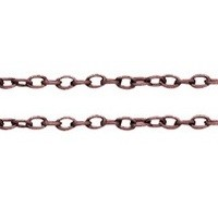CHFCLNF10 A Copper Colour Lead and Nickel Free Chain per Metre