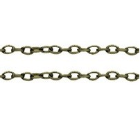 CHFABLNF10 A Bronze Colour Lead and Nickel Free Chain per Metre