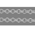 CHFSNF01 Silver Colour Nickel Free Soldered Chain per Metre