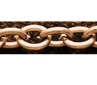 CHFCLNF09 A Copper Colour Lead and Nickel Free Chain per Metre