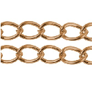 CHFCLNF03 A Copper Colour Lead and Nickel Free Chain per Metre