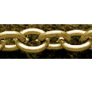 CHFABLNF09 A Bronze Colour Lead and Nickel Free Chain per Metre