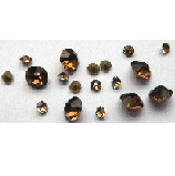5 grams Light Brown Chinese crystal Chatons 2,3,4 mm