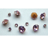 5 grams Pink Chinese crystal Chatons 2,3,4 mm