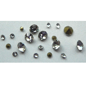 5 grams Clear Chinese crystal Chatons 2,3,4 mm