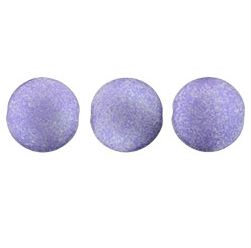 14mm Czech Cushion Round 8 pack Satin Metallic Orchid 29423