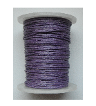 1mm Cotton Cord in dark lilac. Price per 10 metres