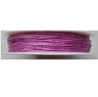 0.5mm Cotton Cord in dark pink. Price per 25 metres