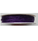 0.5mm Cotton Cord in dark purple. Price per 25 metres