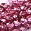 50 pack 4 mm Fire Polished Crystal Rose Met Ice 00030 67282