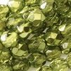 50 pack 4 mm Fire Polished Crystal Olive Met Ice 00030 67554