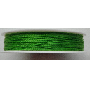 0.5mm Cotton Cord in grass green. Price per 25 metres