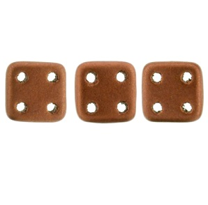 CzechMates QuadraTiles 10g Matte Metallic Antique Copper K0175