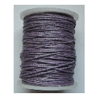 1mm Cotton Cord in lilac. Price per 10 metres