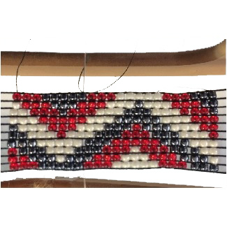 Friday, 28th December, 1.30 - 3 pm weaving on a bead loom