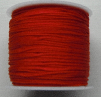 1mm Nylon Cord in red. Price per 40 metre roll