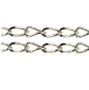 CHFSLNF04 A Silver Colour Lead and Nickel Free Chain per Metre