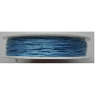 0.5mm Cotton Cord in pale blue. Price per 25 metres
