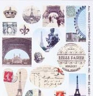 Patera Collage Sheet Paris