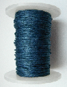 1mm Cotton Cord in petrol blue. Price per 10 metres