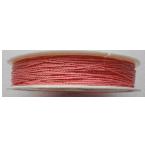 0.5mm Cotton Cord pink. Price per 25 metres