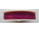 0.5mm Cotton Cord in purple. Price per 25 metres