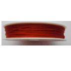 0.5mm Cotton Cord in red. Price per 25 metres