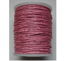 1mm Cotton Cord in rose pink. Price per 10 metres
