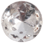 11 mm diameter round Preciosa Crystal Chaton