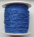 1mm Cotton Cord in royal blue. Price per 10 metres