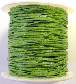 1mm Cotton Cord in spring green. Price per 10 metres