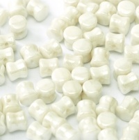 Pellet Beads 30 pack Opaque White Lustre 03000 14400