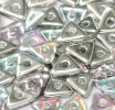 5 grams Tri Beads Crystal Silver Rainbow 00030 98530