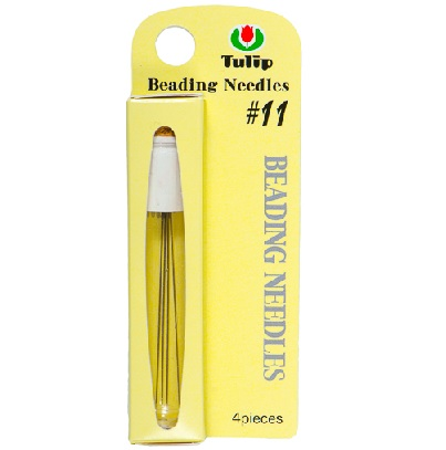 4 Pack Size 11 Long Tulip Beading Needles