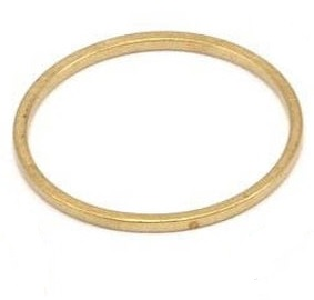 20x0.8mm brass Circle Link
