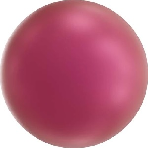 50 pack 2mm Swarovski Round Pearl Crystal Mulberry Pink