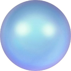 50 pack 2mm Swarovski Round Pearl Crystal Irridescent Lt Blue
