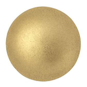 18mm Cabochon par Puca Light Gold Matte 00030 01710
