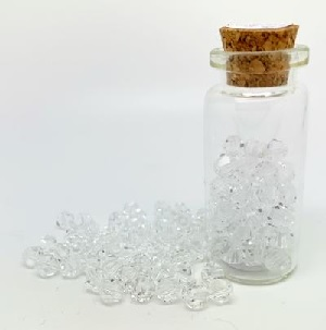 100 Pack 4mm Chinese Bicones Crystal 01